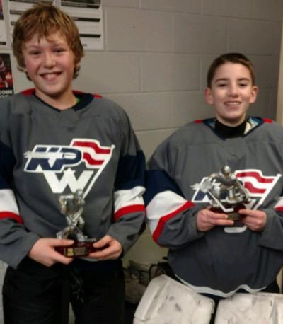 KPW 12U players win Lake Placid Tournament skills contest