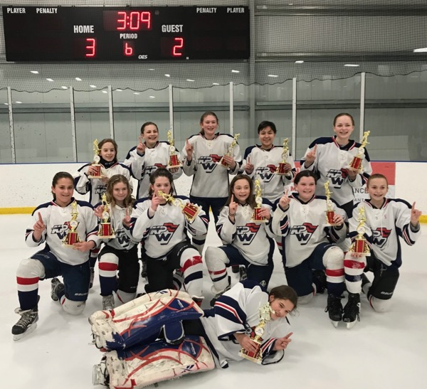 KPW Girls U12B team wins SSC championship in 3 OTs