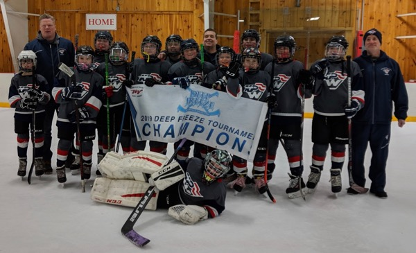 KPW 12UB2 Blue wins Waterville Valley Tournament championship