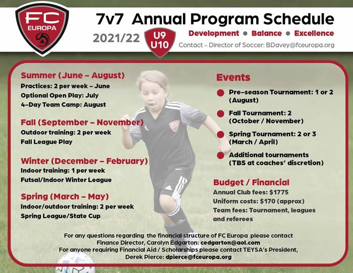 7v7 Program 2021