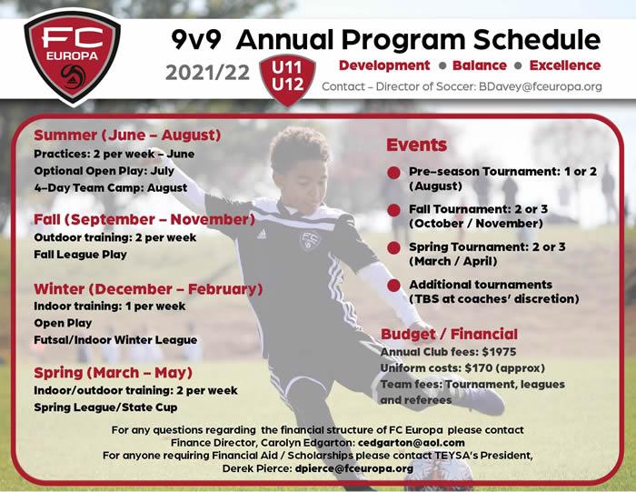 9v9 Program 2021