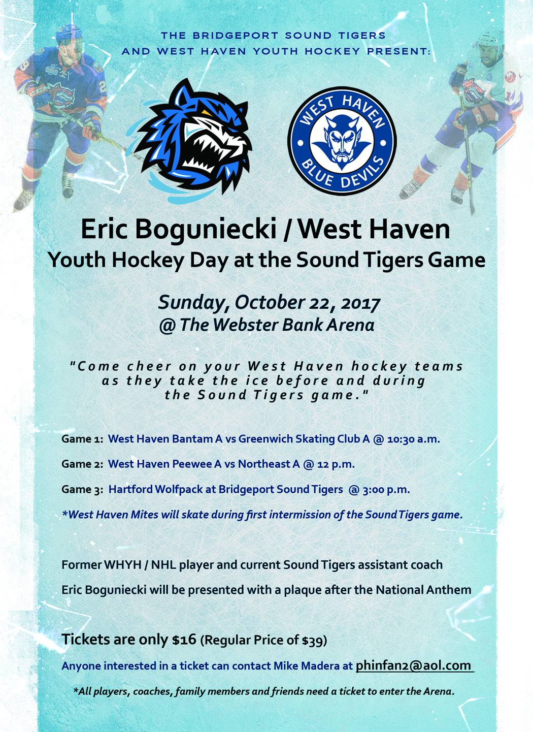 west haven youth hockey