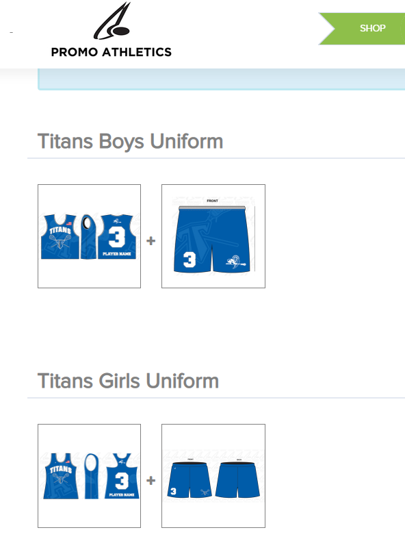 Titans Lax Uniforms