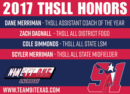 2017 THSLL Honors