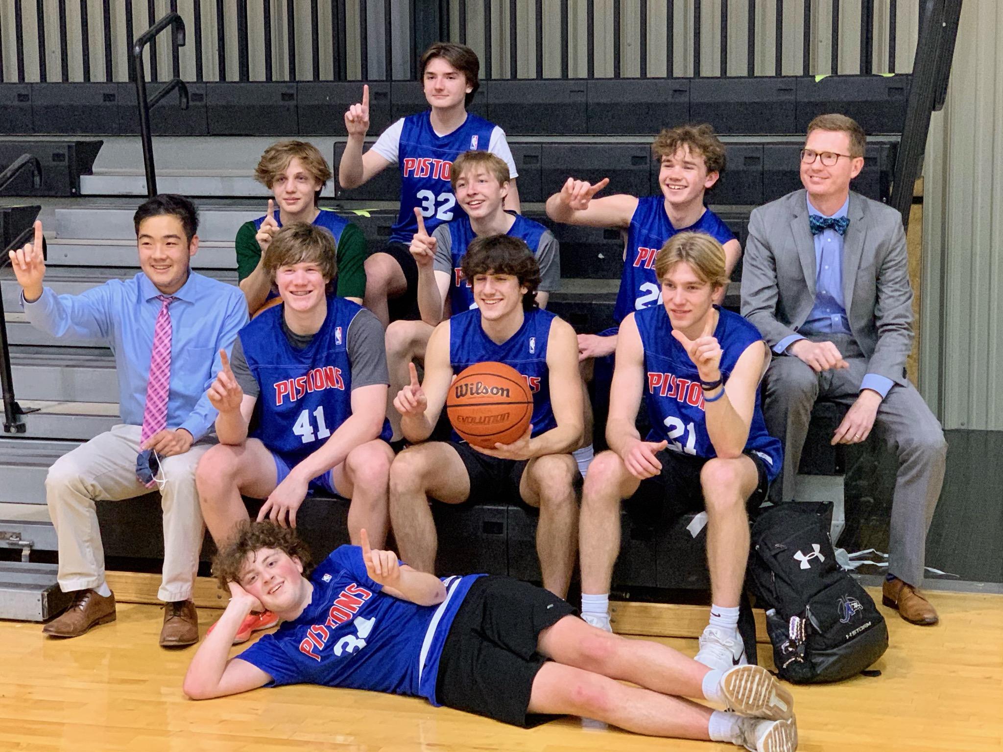 Boys 10th-12th Grade Pistons