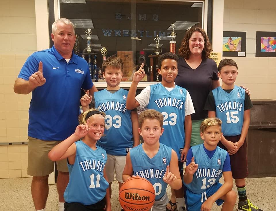 Boys 3rd-4th Grade Thunder Team Photo