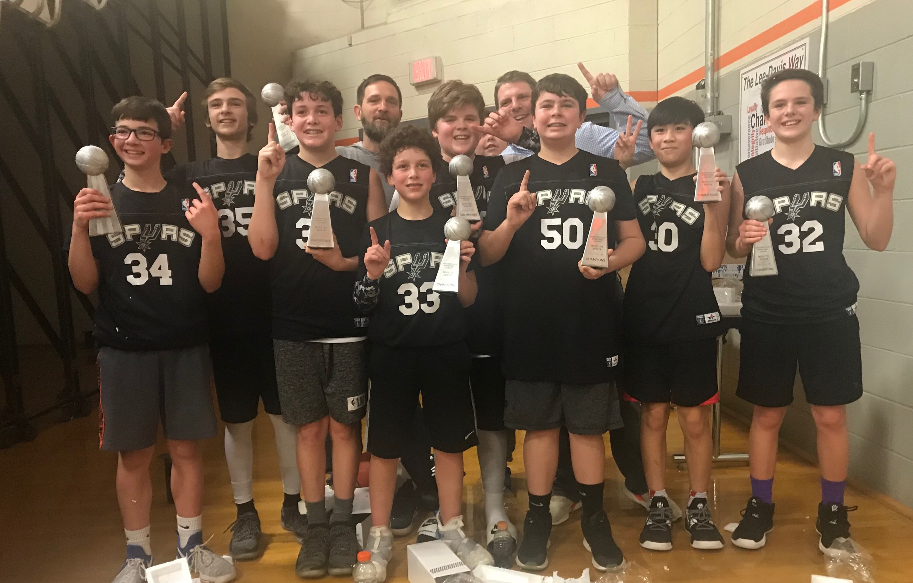Boys 7th Grade Spurs
