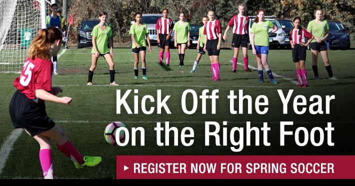 Register Now for Spring Soccer