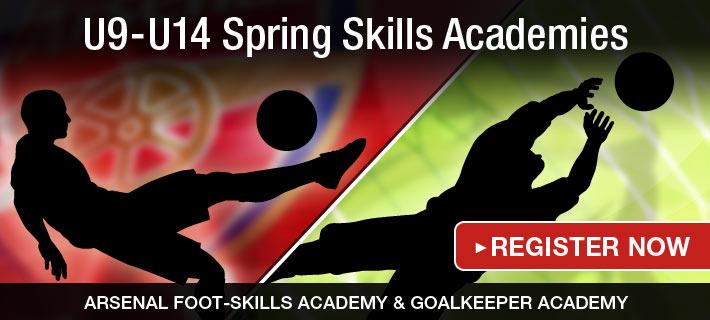 U9-U14 Spring Skills Academies