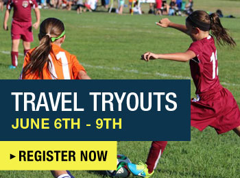 Register Now for Travel Tryouts
