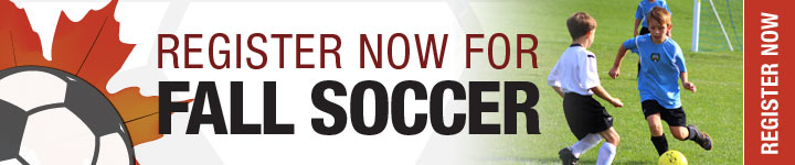 Register Now for Fall Soccer