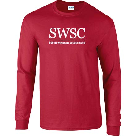 Initials Cardinal Long Sleeve T-Shirt