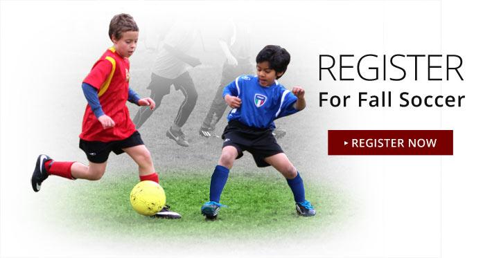Register Now for Fall Soccer