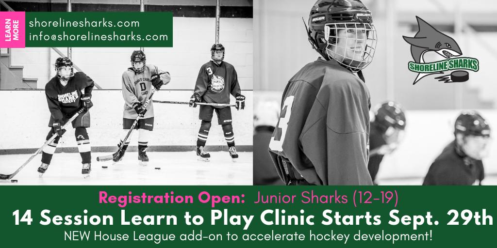 Shoreline Sharks Youth Hockey League