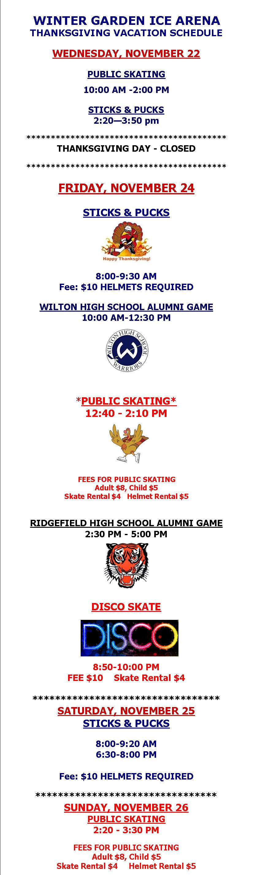 winter garden ice arena llc