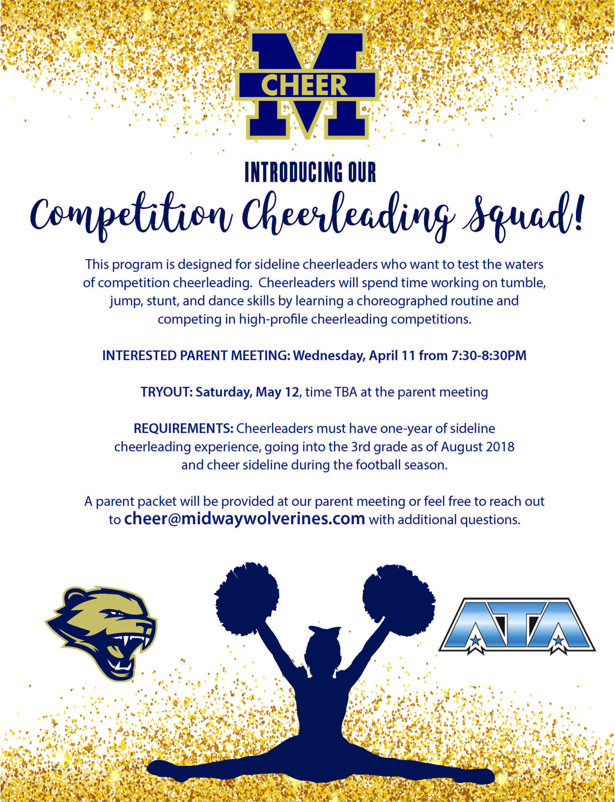 Competition squad midway wolverines football cheerleading competition squad midway wolverines football cheerleading association 1betcityfo Gallery