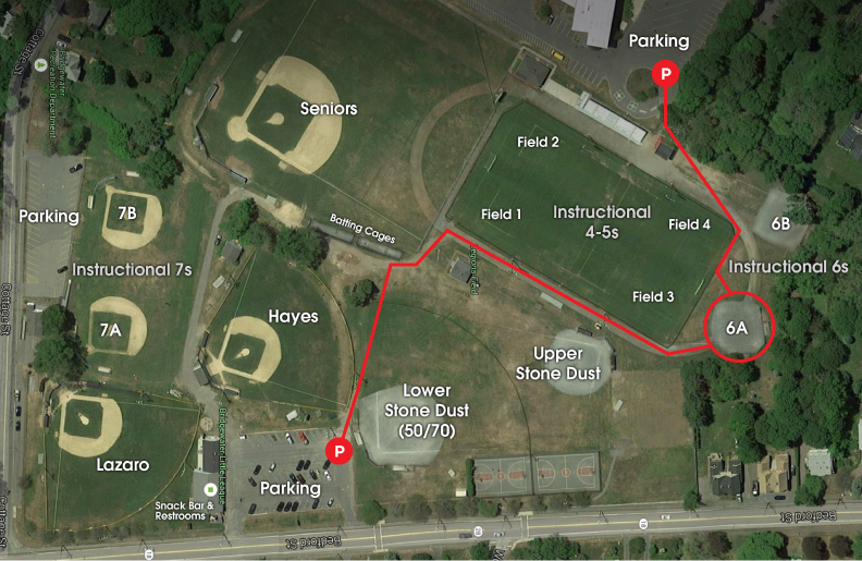 Field Locations | Bridgewater Little League