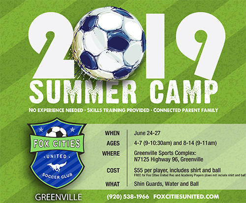 Soccer Summer Camp Greenville WI