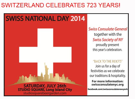 Swiss National Day 2014