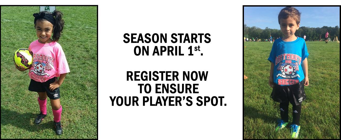 DYSA Registration