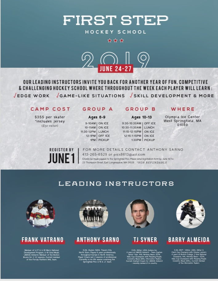 FIRST STEP HOCKEY SCHOOL 2019