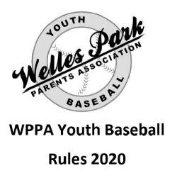 WPPA 2020 Baseball Rules