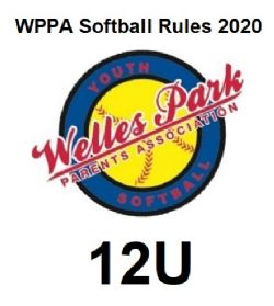 WPPA 2020 12U Softball Rules