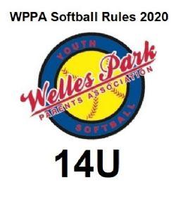 WPPA 2020 14U Softball Rules