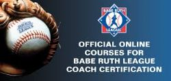 Babe Ruth Coaching Certification