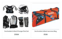 Teamlax Starter Kits and Custom Bags