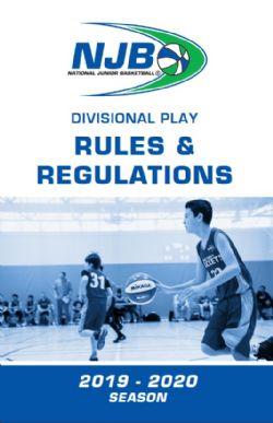 NJB 2018-19 Rule Book
