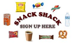Snack Shack Sign up