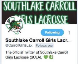 Southlake Carroll Girls Lacrosse (SCGL) Twitter