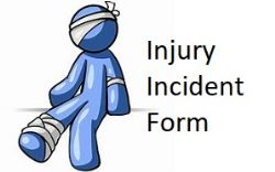 Incident/Injury Tracking Form