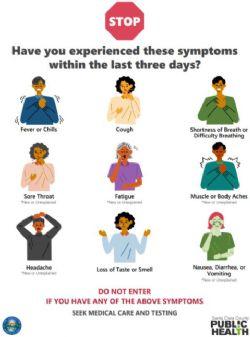 COVID-19 Mandatory Symptom Check