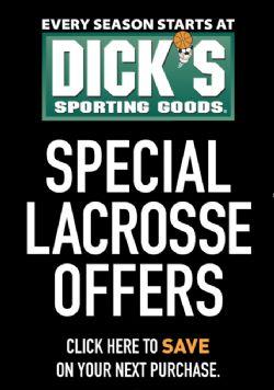 Dick's Lacrosse Specials