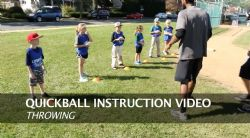 Quickball Instructions - Throwing
