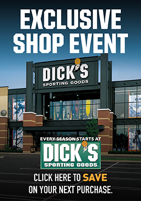 DICKS SHOP DAYS FEB 14-16