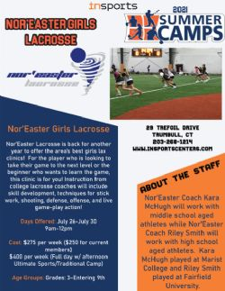 Nor'easter Lacrosse Summer Youth Camp