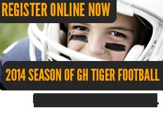 GH Tiger Football Registration