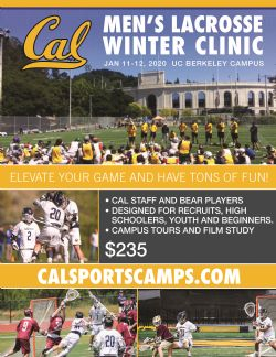 Cal Lax Winter Camp