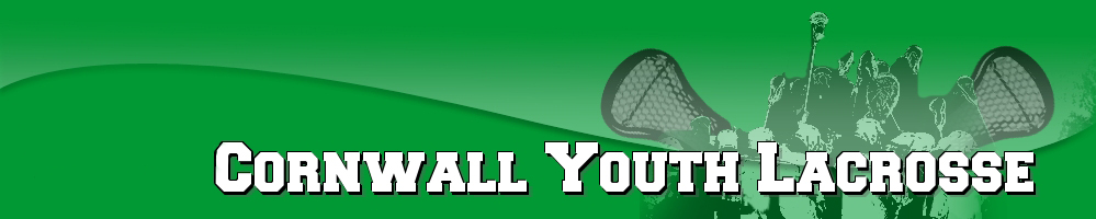 Cornwall Youth Lacrosse, Lacrosse, Goal, Field