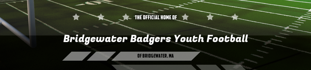 Bridgewater Badgers Youth Football, Football, Touchdown, Field