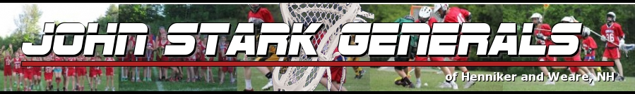 John Stark Generals, Lacrosse, Goal, Field