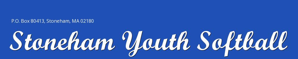 Stoneham Youth Softball, Softball, Run, Field