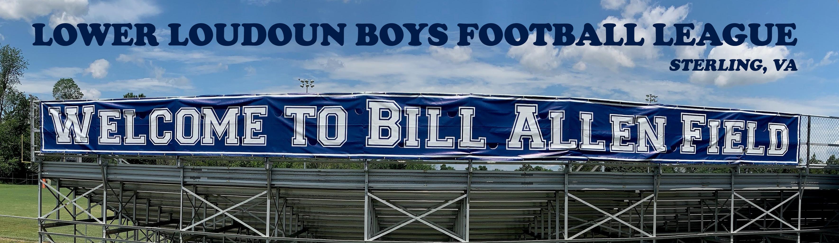 Lower Loudoun Boys Football League, Football, , Bill Allen Field