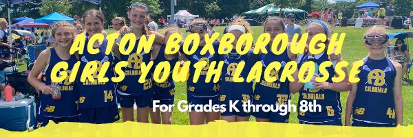 Acton-Boxborough Girls Youth Lacrosse, Lacrosse, Goal, Field