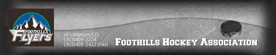 Foothills Hockey Association, Hockey, Goal, Rink