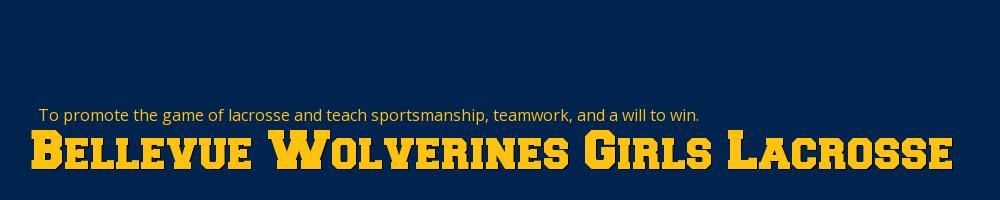 Bellevue Wolverines Girls Lacrosse, Lacrosse, Goal, Field