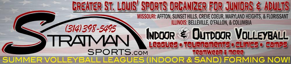 Stratman Sports   Greater St. Louis Volleyball Organizer - Affton, Sunset Hills, Columbia, Belleville & More!, Volleyball, Goal, Court